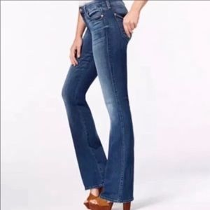 7 for all mankind 100% cotton boot cut jeans SZ 29